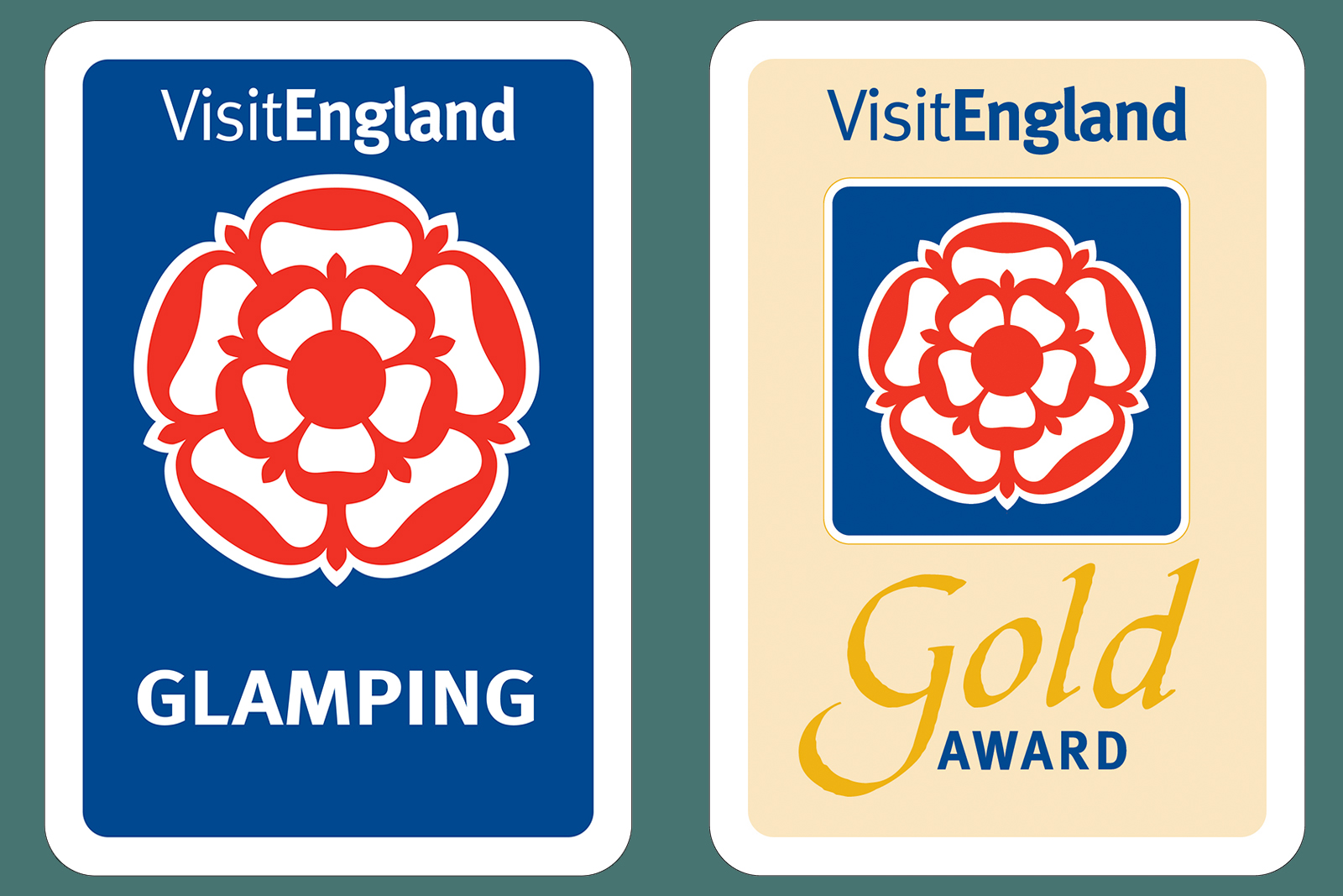 Gold award glamping