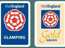 5 star glamping   gold award