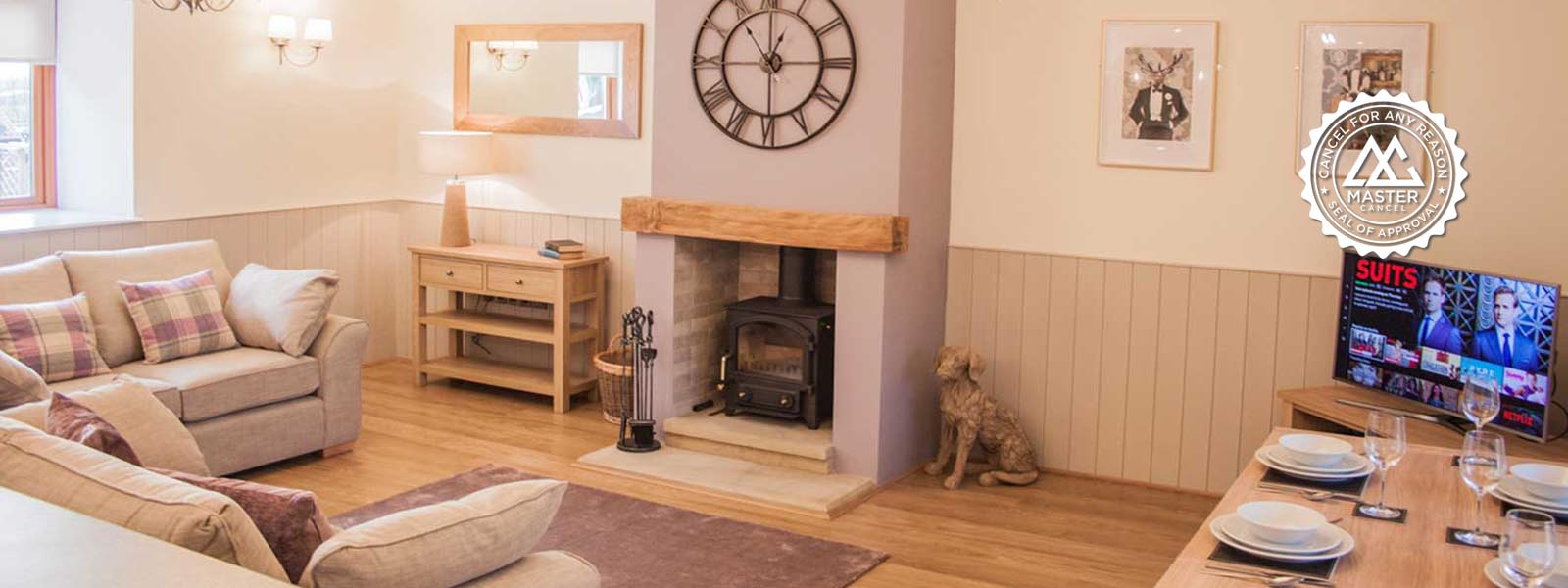 Luxury Cottage at High Oaks Grange near Pickering