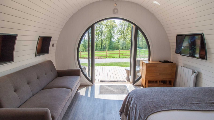 Family Glamping Pods in Pickering